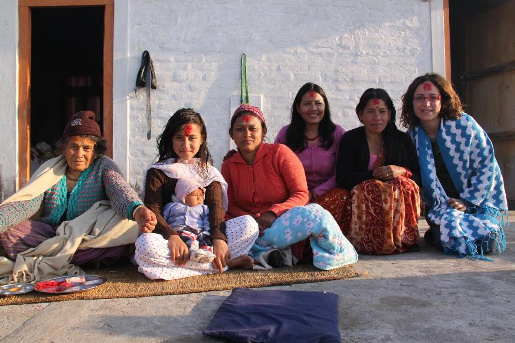 AFID volunteer on gap year in Nepal
